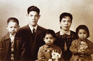 李登輝與夫人曾文惠共育有三兒女:獨子李憲文、大女兒李安娜、小女兒李安妮。